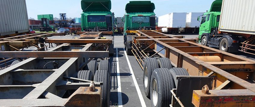 Shippers, truckers hit chassis roadblock in Memphis